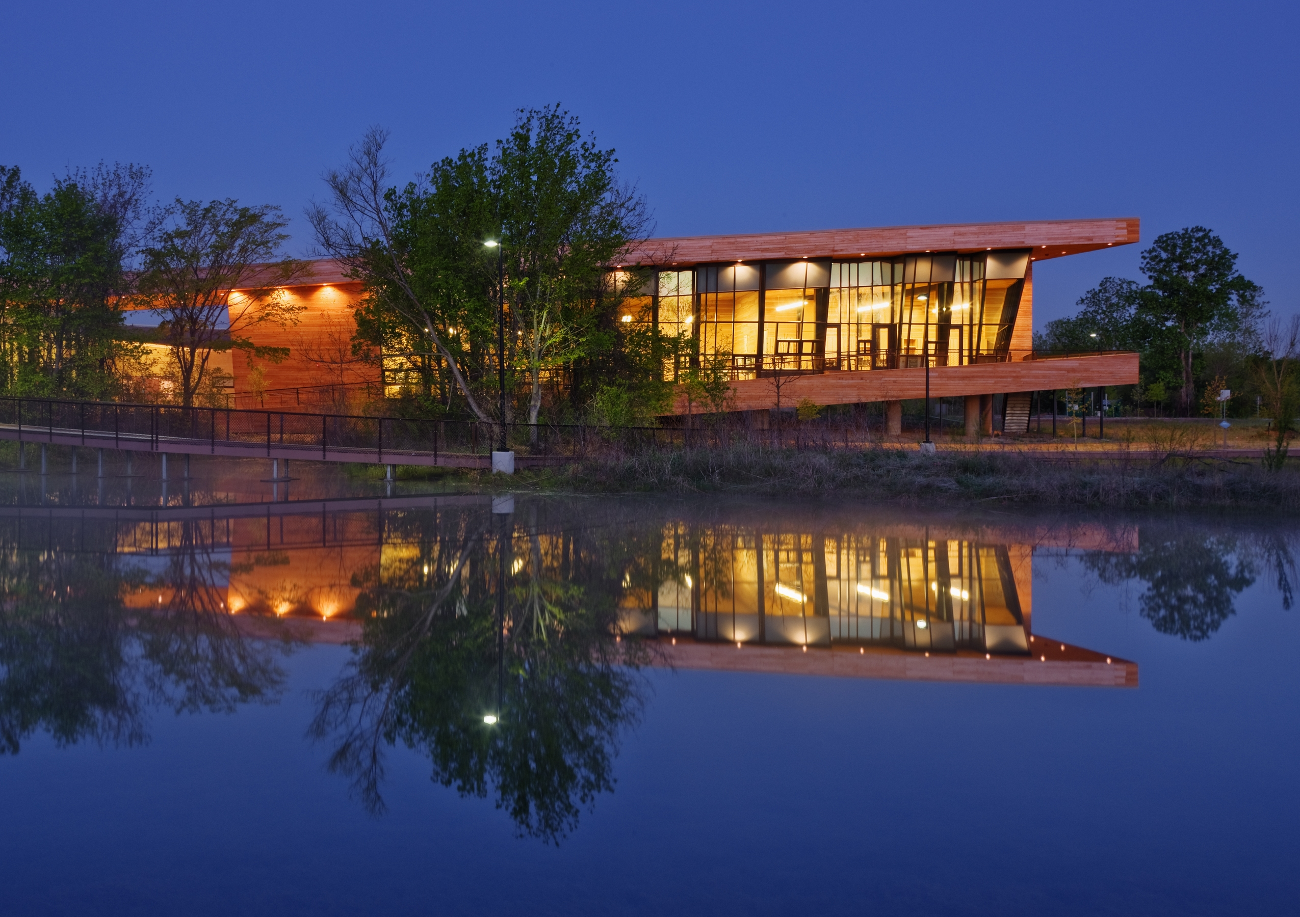 Texas, Dallas, Trinity Audubon Nature Center